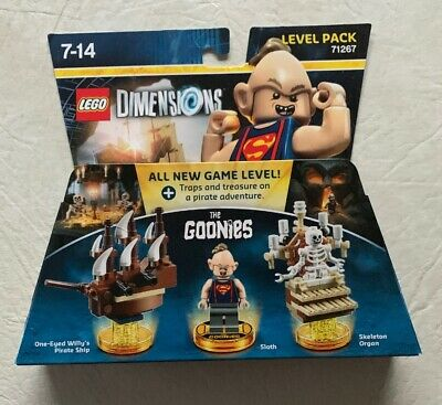 Lego Dimensions The Goonies Level Pack 71267 Brand New Sealed Very Rare