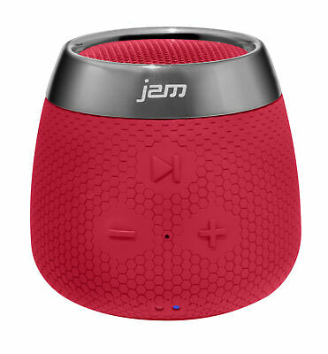 Jam Replay Mini Bluetooth Speaker - Portable Rechargeable Wireless Red