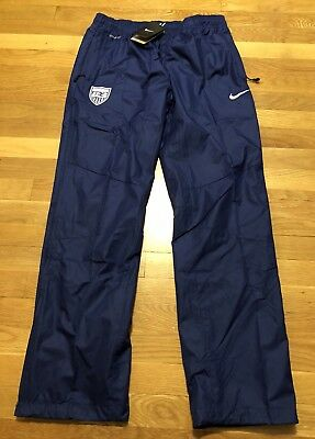 NIKE TEAM USA Womens Soccer Storm fit Warm Up Pants Medium