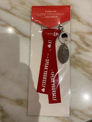 BTS Love Yourself Speak Yourself Tour Keyring - SUGA (Official Merch)