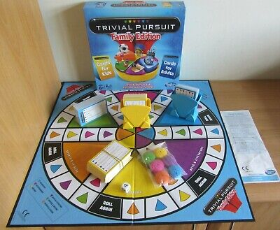 PART SEALED Trivial Pursuit FAMILY EDITION 2014 Hasbro Gaming Board Game