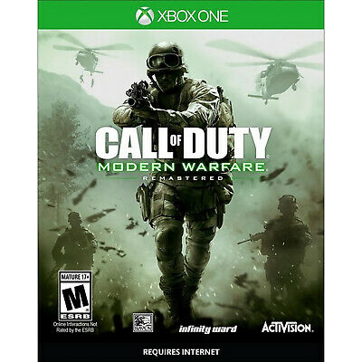 Call of Duty: Modern Warfare Remastered Xbox One [Factory Refurbished]