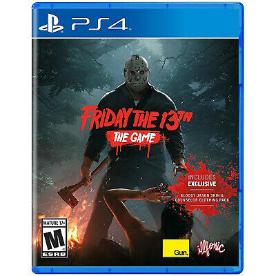 Friday the 13th: The Game PS4 [Factory Refurbished]