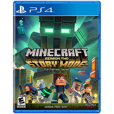 Minecraft: Story Mode: Season Two PS4 [Factory Refurbished]
