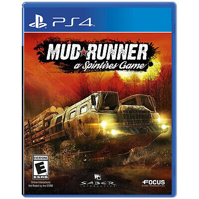 MudRunner: A Spintires Game PS4 [Factory Refurbished]
