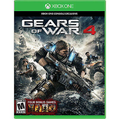 Gears of War 4 Xbox One [Factory Refurbished]