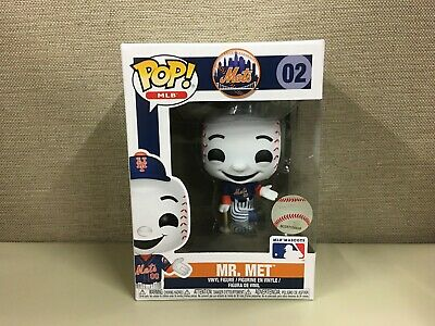 Funko Pop! Major League Baseball: New York Mets Mascot Mr. Met #02 Blue Jersey