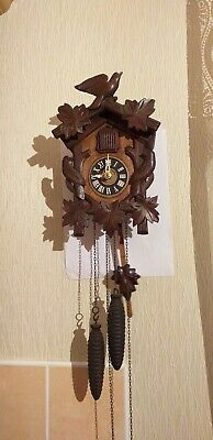 Antique Black Forest German cuckoo Clock in very good working order
