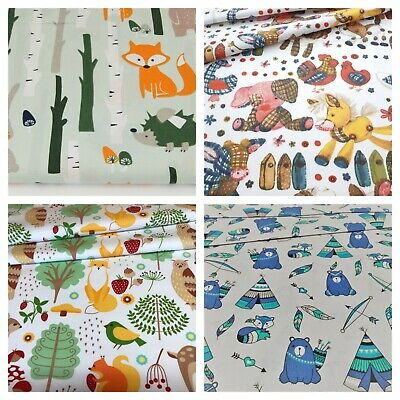 children beautiful design 100% cotton sold by big fat quarter ,craft ,sewing