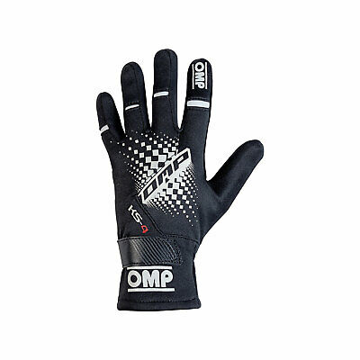 OMP KS-4 MY18 Karting Gloves Black s. S