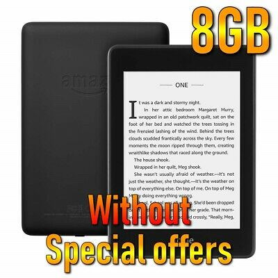 Amazon Kindle Paperwhite 4 (10th Generation 2018) 8GB Without ads/Special Offers