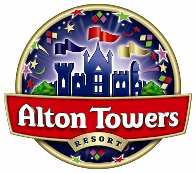 Alton Towers Tickets - Friday 12Th July 2019