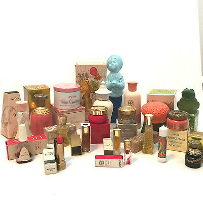 Vintage Novelty Collectable AVON Lot #3 Of Bottles, Tubes or Jars With Boxes