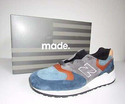 65527dfcb43d8 New Balance 999 Blue Gray M999JTC Mens Size 10 Made In USA Retail $199