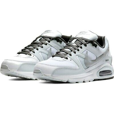 date de sortie: 180ac 0f2b9 HOMME CHAUSSURES NIKE Air Max Command Blanches en Cuir et Toile Baskets