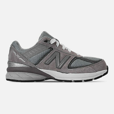 New Balance Big Kid's 990 V5 Shoes NEW AUTHENTIC Grey GC990GL5
