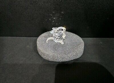 Swarovski Glass Crystal Field Mouse 7631 025 000 Boxed