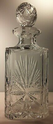 Edinburgh Crystal, Star of Edinburgh Pattern, Glass Magnum Decanter, Very Rare