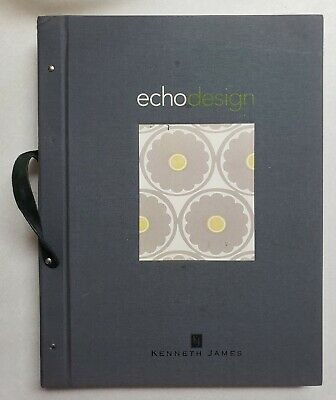 Echo Designs Kenneth James Wallpaper Sample Book Scrapbooking Paper Craft