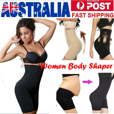 Women Shapermint High-Waisted Shorts Pants Body Shaper Girdle Shapewear Band AU