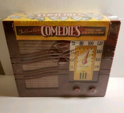 The Great Radio Comedies Amos 'n' Andy Fibber McGee Molly Abbott Costello CD