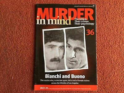 Murder In Mind Magazine - Issue 36 - Bianchi And Buono - Good Condition !