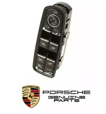 GENUINE Porsche Cayenne Panamera Driver Left Switch Assembly 7PP959858AFDML