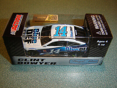 #14 Clint Bowyer 2019 ACTION 1/64 BLUE DEF Ford Nascar Monster Energy Diecast