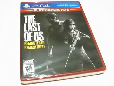 The Last of Us Remastered (PS4) PlayStation Hits - NEW!