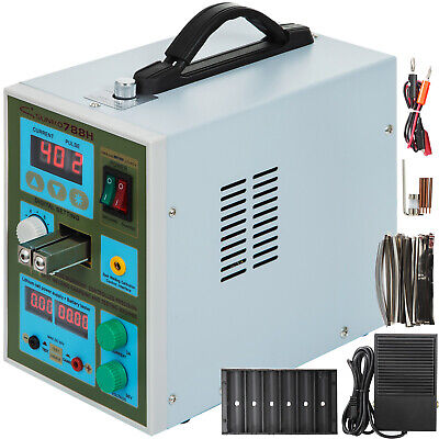 788H LED Dual Pulse Spot Welder for 18650 Battery Charge w/1Kg Nickel Strip 800A