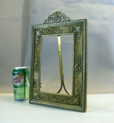 Fine Large Antique French Louis XVI Style Bronze Easel Frame ALTMAN CO ca.1920s