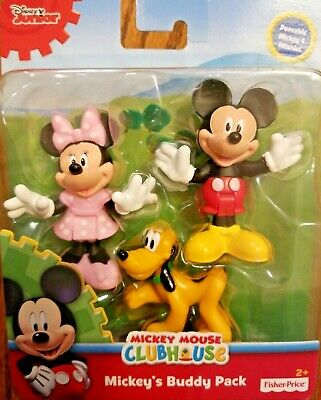 Disney Junior Mickey Mouse Clubhouse MICKEY'S BUDDY PACK 3 Pals NEW&Ships Free
