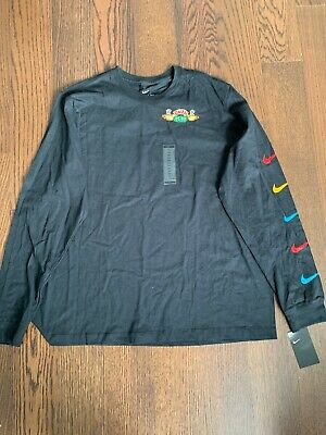 7572fccc New Nike Kyrie Friends Long Sleeve Central Perk Uncle Drew Black size XXL