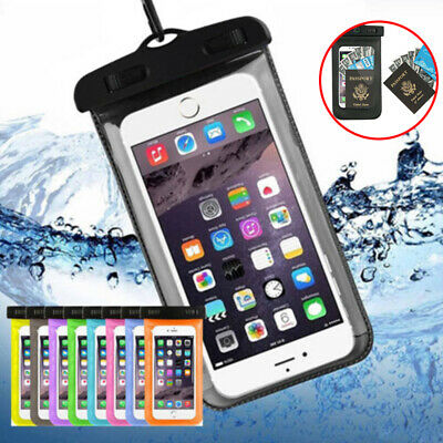 Waterproof Phone Case Cover Bag Underwater Dry Pouch for Mobiles iPhone Samsung
