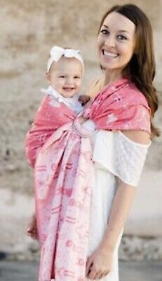 Tula Day Dreamer Ring Sling Woven Wrap Baby Carrier Cotton Infant