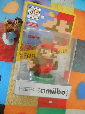 **-** Figurine Super Mario Bros  30 Th  -*-  2015 Nintendo Collector Amiibo -*--