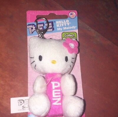 38c2e163b Hello Kitty My Melody PEZ Dispenser Key Chain Backpack Hanger ( No Candy)  SANRIO