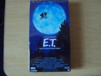 E.T The Extra-Terrestrial Limited Edition VHS Sealed