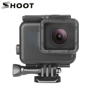 SHOOT 45M Waterproof Case for GoPro Hero 7 6 5 Black 4 3 3+ Underwater Housing
