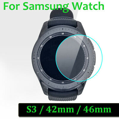 For Samsung Galaxy Gear Watch 42mm 46mm S3 Tempered Glass Screen Protector