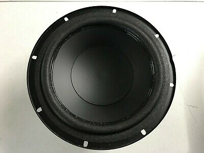 "1 x Acoustic Research D01-0007 8"" 4ohm Poly Cone Shielded Foam Surround Woofer"