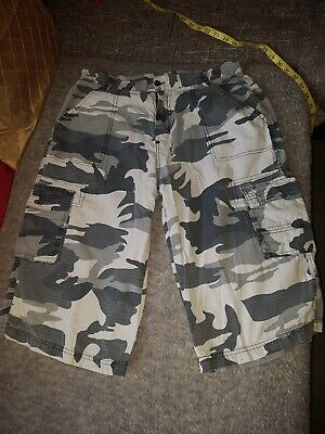 99bcafbed6 Mens Camo Shorts Brave Soul Combat Cargo Military Army Seven Series Summer  New.