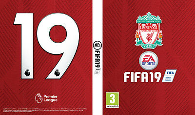 FIFA 19 PS4 Game Liverpool Shirt Edition Cover For PlayStation 4