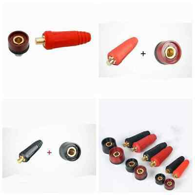 DKJ Male Female Copper Cable Connector Welder Quick Fitting Socket Plug Welding