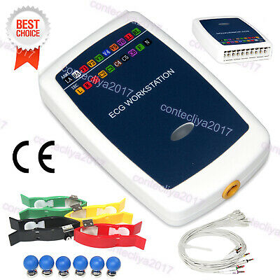 CONTEC8000G PC Based ECG Workstation 12 lead Resting System Recorder, USB PC SW