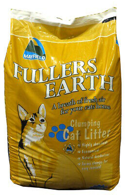 Mayfield Fullers Earth Cat Litter 20ltr *RETURNS* *DAMAGED PACKAGING*