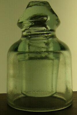 Clear French glass insulator