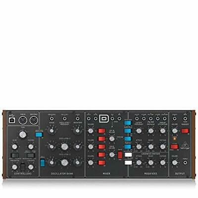 NEW Behringer Synthesizer MODEL D Analog Monophonic Synthesizer
