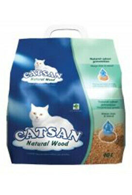 Catsan Litter Natural Wood 10ltr | RETURNS | DAMAGED PACKAGING