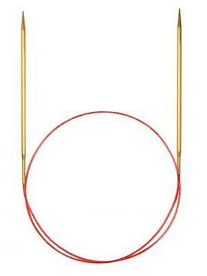 addi Lace Gold Tip Fixed Circular Knitting Needles 100cm (40in)